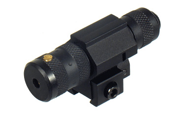 """UTG Red Laser, Integral 3/8"""" Dovetail Mount w/Adjustable Clamping"""