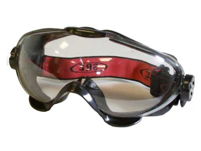 SRC P-41 Tactical Anti-Fog Airsoft Safety Goggles, Black