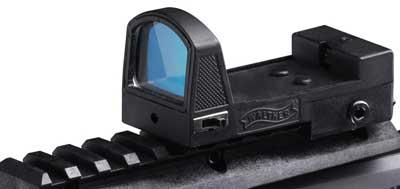 Walther Shot Dot Sight, Adj Windage/Elevation, Weaver Mount