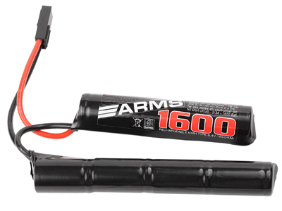 Swiss Arms / Intellect 8.4V 1600 mAh NiMh Battery, Mini Nunchuck Type