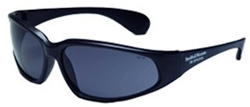Smith & Wesson 38 Special Series Black Frame With Smoke Lens Safety Glasses