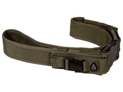 UTG Law Enforcement Pistol Belt, OD Green