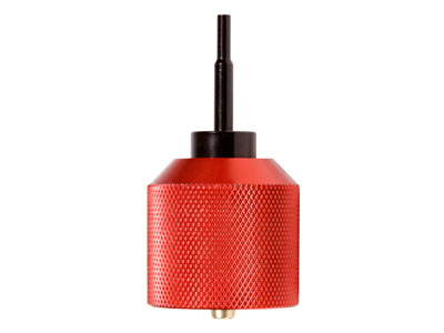 Tactical Crusader PRO-A1 Metal Propane Adapter, Red