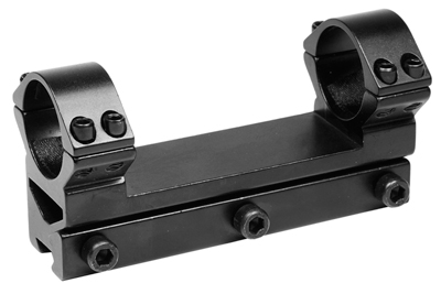 """Tech Force 1-Pc Mount, 1"""" Rings, 11mm Dovetail, See-Thru"""