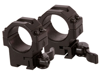 UTG Max Strength Quick-Detach 30mm Rings, Medium, 9-11mm Dovetail