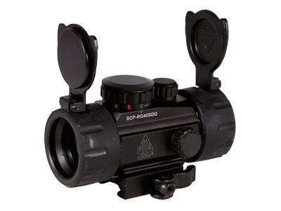 "UTG 1x30 4"" Compact ITA Red/Green Target Dot Sight, 1/2 MOA, Integral Quick-Detach Weaver/Picatinny Mount"