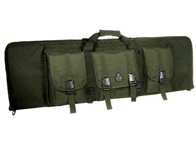 "UTG Combat Web Gun Case, 42"", OD Green"