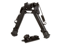 UTG Tactical Super Duty Full Metal Bipod, Quick Detach Lever Lock, Center Height: 6.0