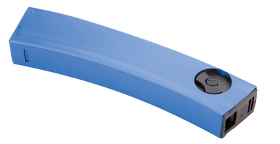 RAM S-Series Paintball Rifle Magazine, Fits 11S & 13S, LE Blue