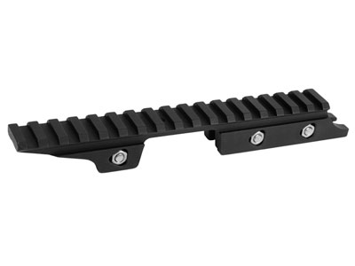 Welman 11mm-to-Picatinny Drooper Rail, 22 MOA, Fits Air Arms S410/S510 Air Rifles