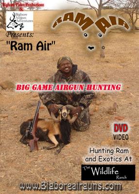Ram Air DVD: big game airgun hunting