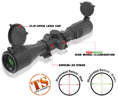 Leapers 3-9x40 Scope.