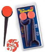 Daisy Shatterblast. 4 target stakes and 8 breakable target disks