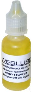 Webley Air Gun Lube (WEBLUBE)- cleans, lubricates and protects metal.