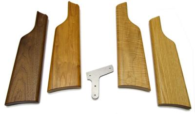 Weihrauch HW45 Shoulder Stock, Cherry or Oak, LH & RH