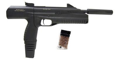 IZH Drozd BB Pistol with Suppressor