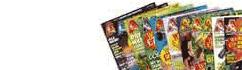 Books, magazines, videos & more