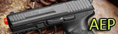 AEP airsoft pistols