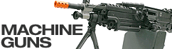 Airsoft machine guns and submachine guns