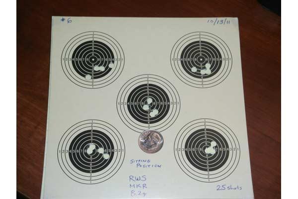 Customer images for RWS Meisterkugeln Rifle .177 Cal, 8.2 Grains, Wadcutter, 500ct | Pyramyd Air