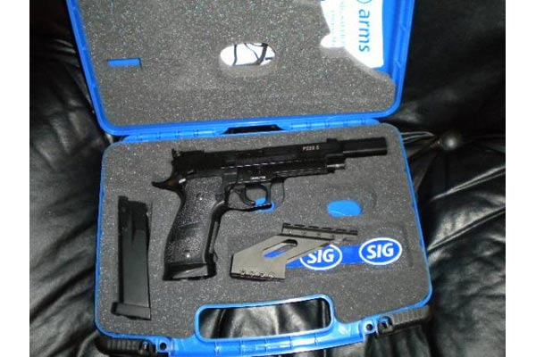 Customer images for SIG Sauer P226 X-Five Open Combo | Pyramyd Air