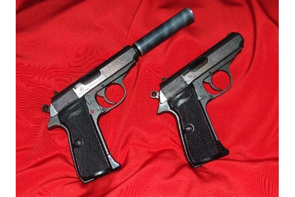 By Photo Congress    Walther Ppk Airsoft Gun With Silencer