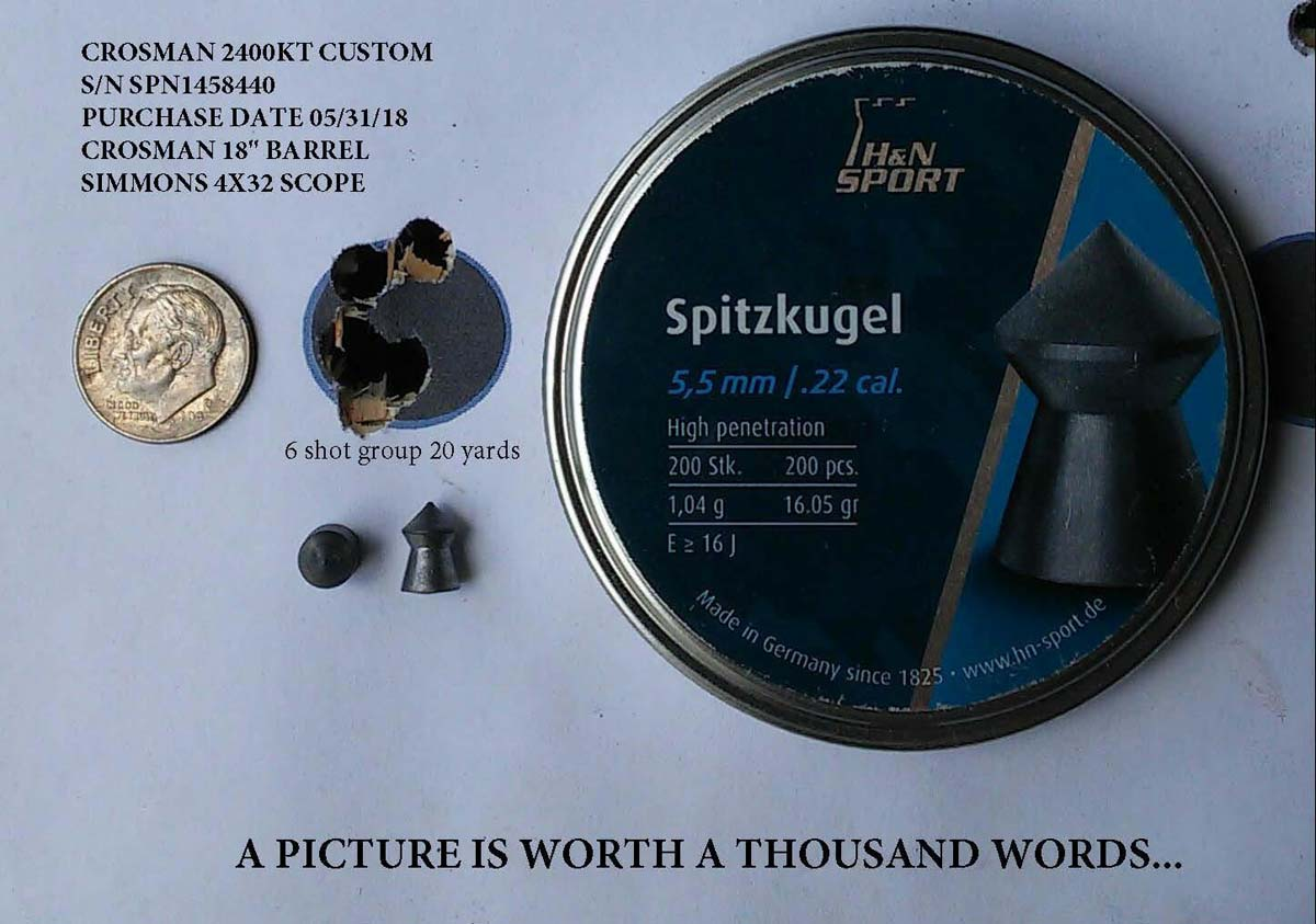 Customer images for H&N Spitzkugel | Pyramyd Air