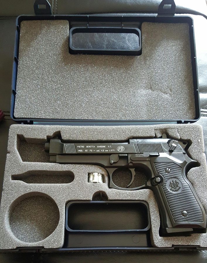 Customer images for Beretta 92FS CO2 Pellet Pistol | Pyramyd Air