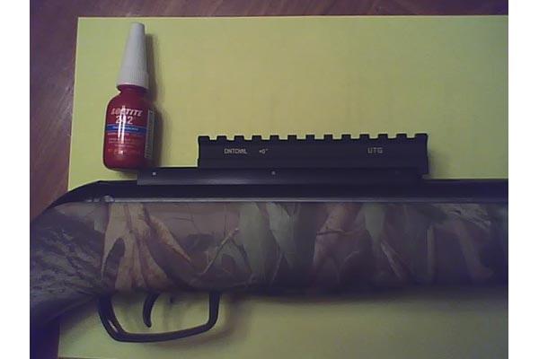 Customer images for UTG Scope Mount Base, Fits RWS Diana Rifles, Gamo Whisper & Others - PyramydAir.com