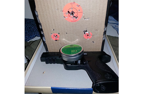 Customer images for Smith & Wesson M&P 45 CO2 Pistol | Pyramyd Air