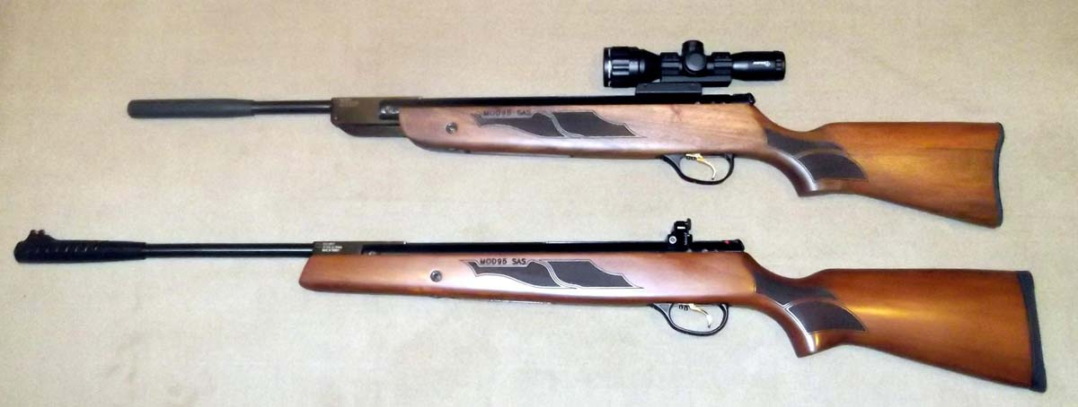 Customer images for Hatsan 95 Air Rifle Combo, Walnut Stock | Pyramyd Air
