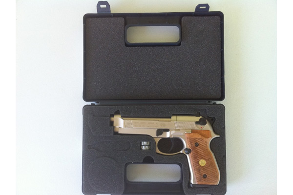 Customer images for Beretta 92FS, Nickel Air Gun | Pyramyd Air