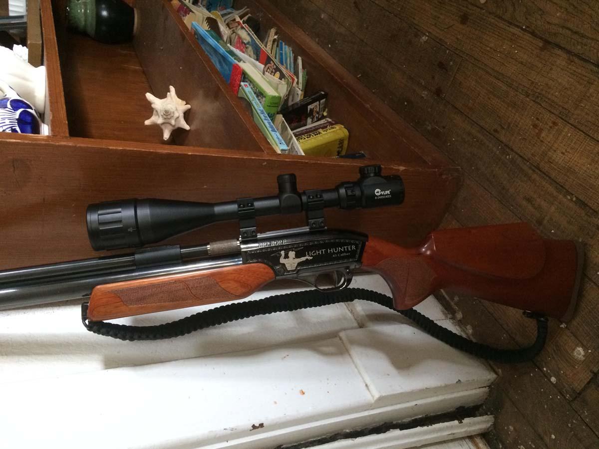 Customer images for Seneca Big Bore 44 909S Light Hunter Air Rifle | Pyramyd Air