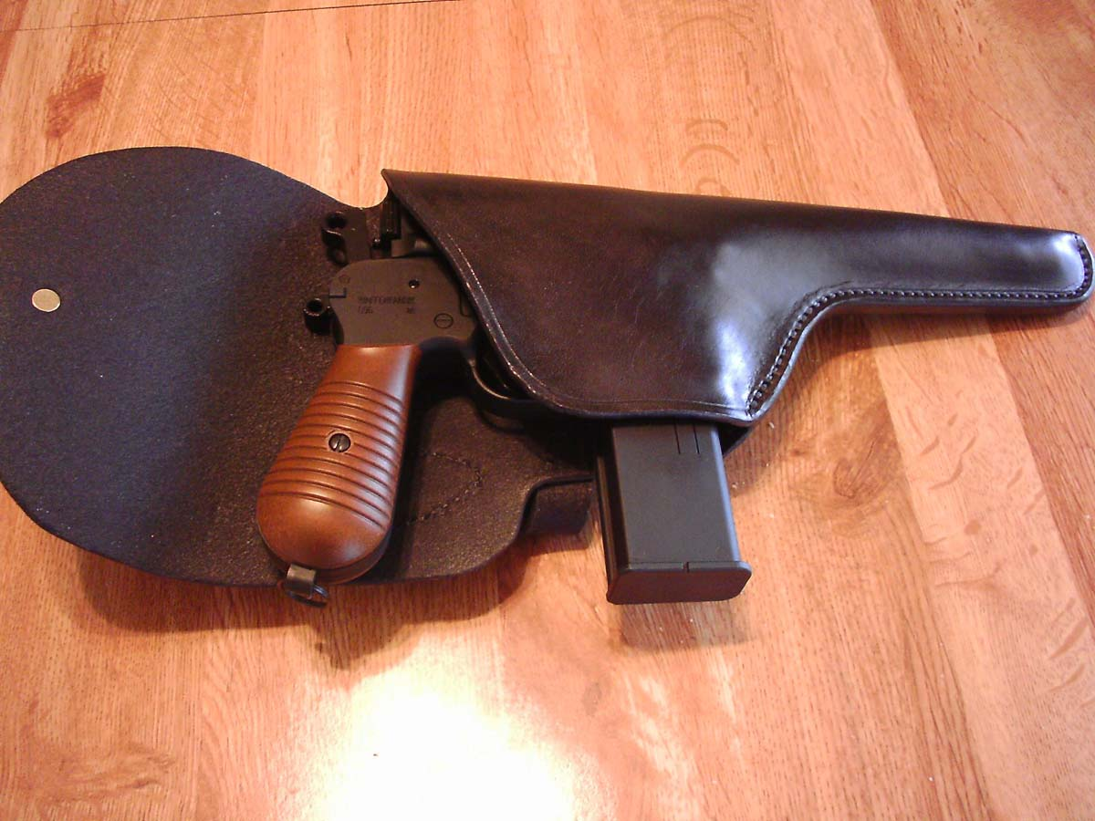 Customer images for Mauser C96 Holster, Black, Right Hand | Pyramyd Air