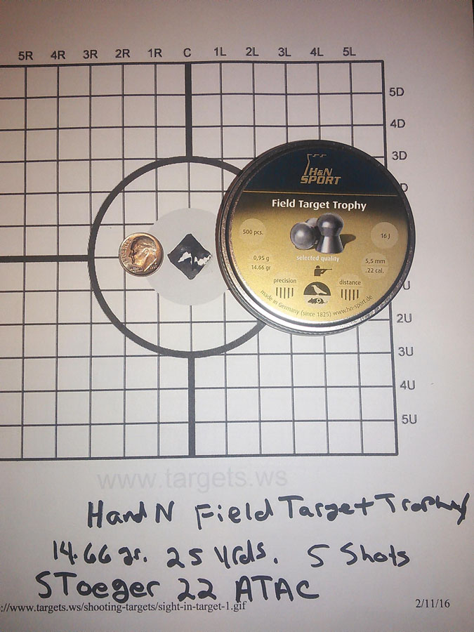 Customer images for H&N Field Target Trophy .22 Cal, 14.66 Grains, Round Nose, 500ct | Pyramyd Air