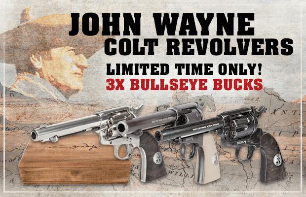 John Wayne Colt Revolvers