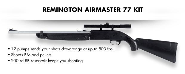 Remington AirMaster 77 Kit