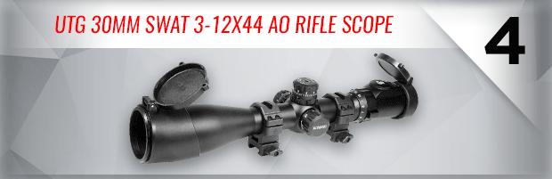 UTG 30mm SWAT 3-12x44 AO Rifle Scope