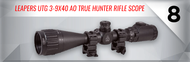 Leapers UTG 3-9x40 AO True Hunter Rifle Scope