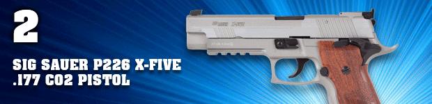 SIG Sauer P226 X-Five .177 CO2 Pistol
