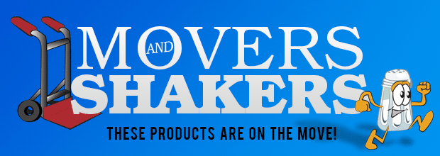 Movers and Shakers Top Ten Products