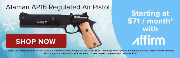 Ataman AP16 Regulated Compact Air Pistol