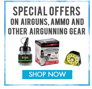 Airguns, Ammo and Gear specials
