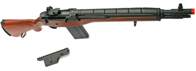 Echo 1 SOC 16 Airsoft Rifle, Wood