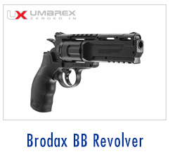 Umarex air-powered revolver
