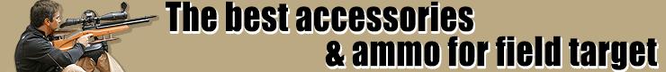 Field target ammo & accessories