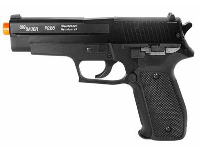 SIG Sauer P226 Spring Airsoft Pistol, Kit