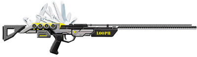 LOOPH PCP Lunar Air Rifle
