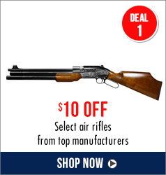 $10 off select air rifles from top manufacturers