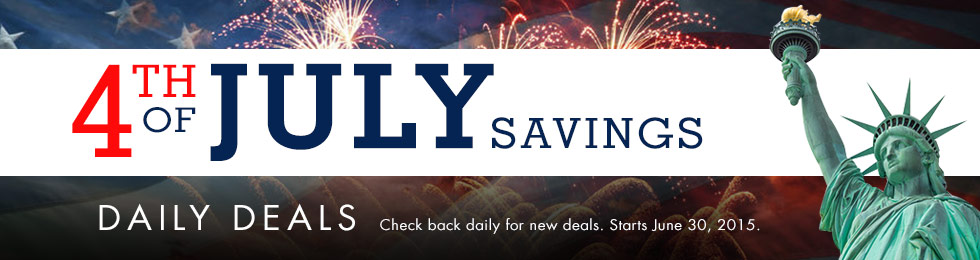 4th of July Savings - Daily Deals